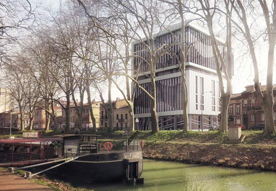 Réhabilitation d'une tour de bureaux en logements